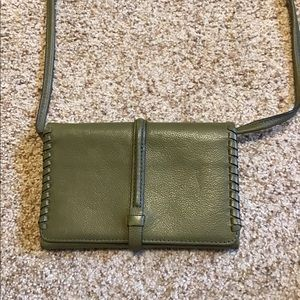 Fossil Crossbody Wallet with detachable strap